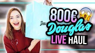 800€ XXL DOUGLAS LIVE HAUL #24DaysOfChristmas (Werbung, Markennennung)
