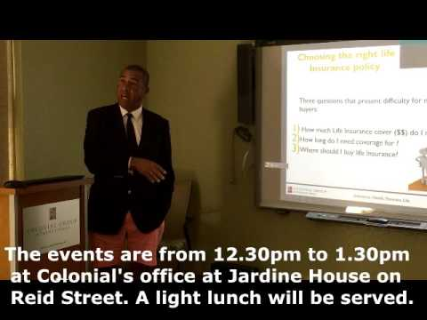 Colonial is marking Life Insurance Awareness Month with a series of lunch and learns