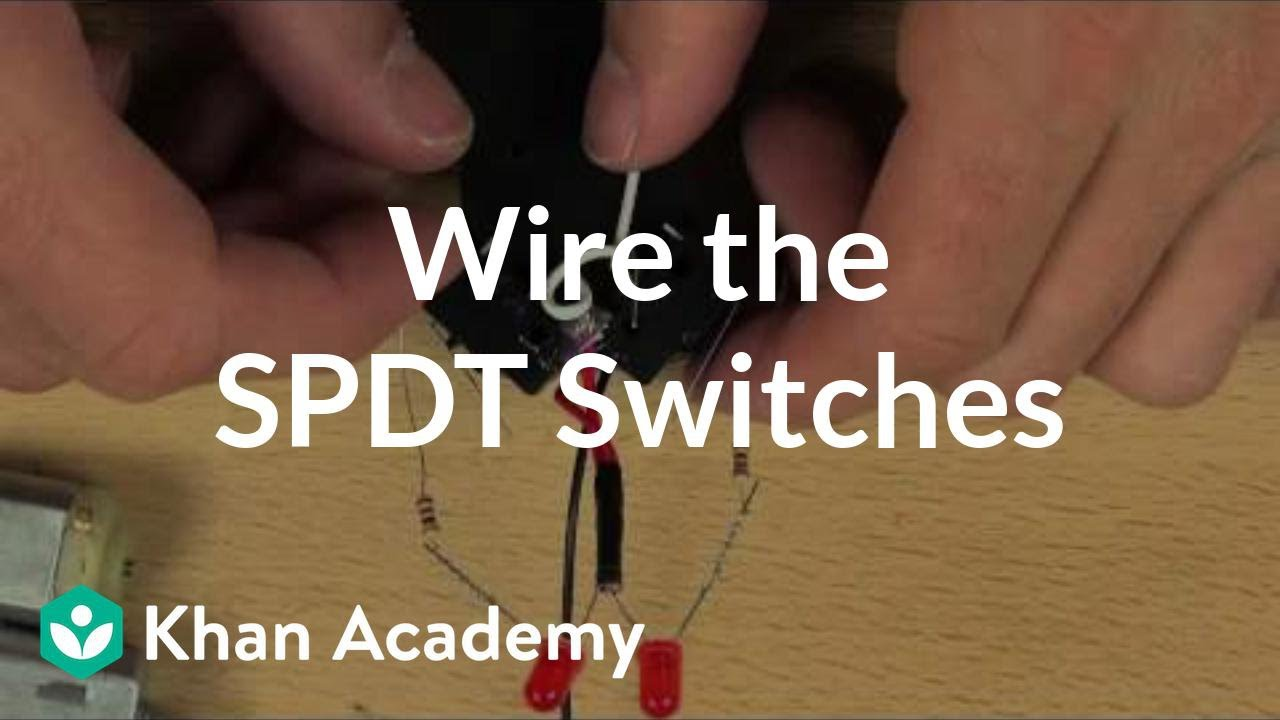 spdt switch wiring diagram 12v light [ 1280 x 720 Pixel ]