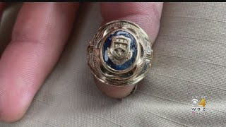 Gambar cover Class Ring Lost For 60 Years Found In South Shore Pond