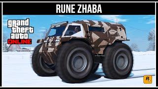 GTA Online: RUNE Zhaba - Неубиваемый вездеход!