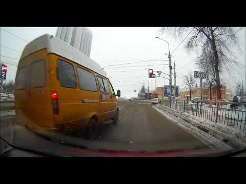 Водители маршруток в Ульяновске отчаянные ребята 13 декабря 2018 года