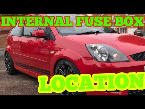 Fiesta fuse box location 2002- 2012 ford fiesta mk6 - YouTubeYouTube
