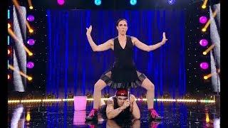 """Moment 18+ la """"iUmor""""! Un fel de acrobații cu David și Fofo, care i-au lăsat fără glas pe j"""