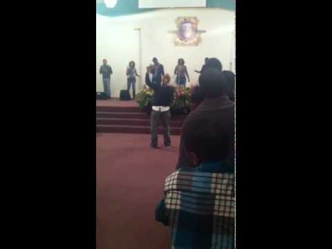 Jamard Walker sings Yahweh