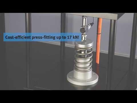 Intuitive software for servo press kit YJKP