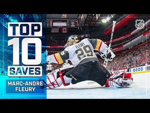Top 10 Marc-Andre Fleury Saves From 2018-19