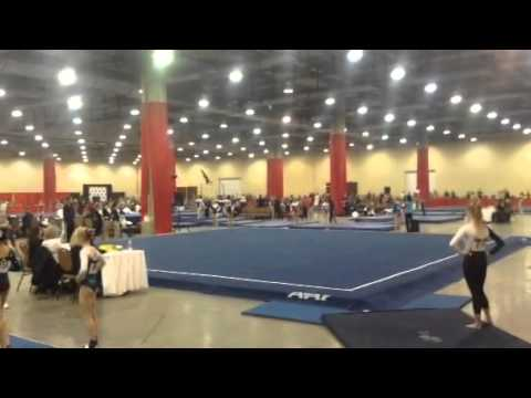 Kurt Thomas Invitational 2014 - Floor