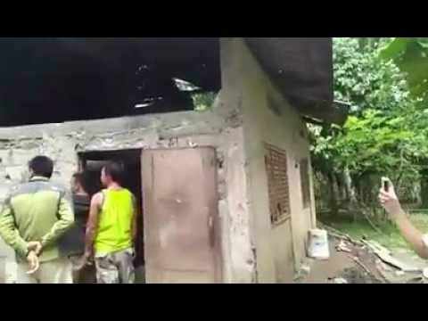 Abu sayyaf hiding house in Bohol