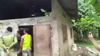 Abu sayyaf hiding house in Bohol