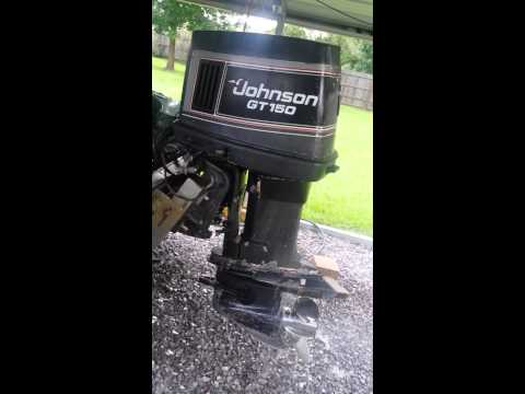 1989 Johnson GT 150 outboard for sale