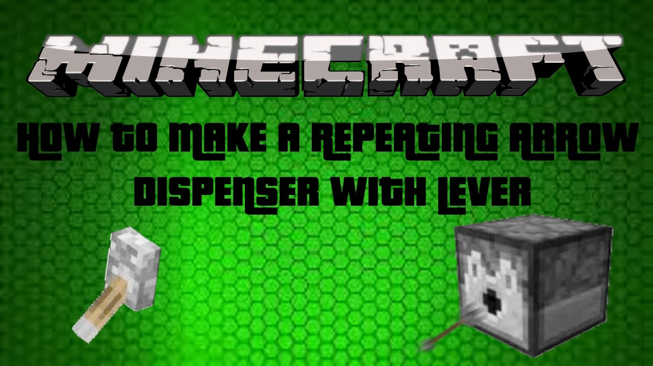 how to make a repeating dispenser in minecraft