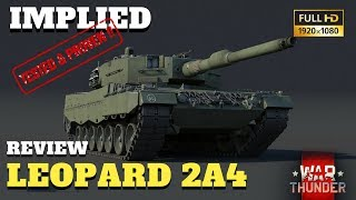War Thunder - Tank Review - Leopard 2A4 und Analyse Tool - GAMEPLAY