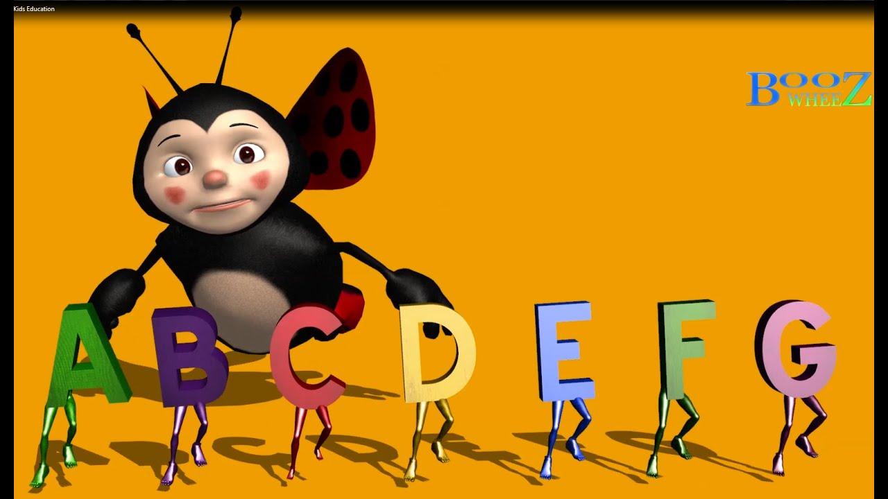 Abc 3d Alphabet Cartoon Song Kids Learning