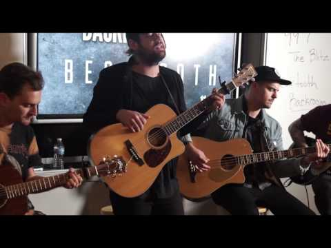 Beartooth acoustic at 99.7 The Blitz...