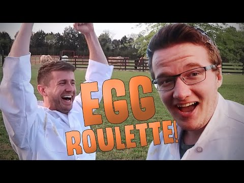 EGG ROULETTE CHALLENGE!! - WOULD YOU RATHER
