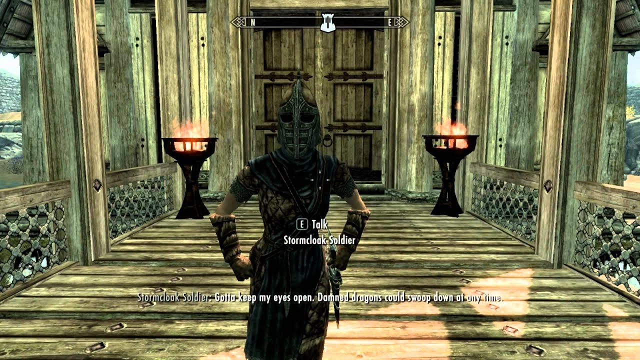 Quotes of the Skyrim Guard