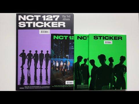 ♡Unboxing NCT 127 엔시티 127 3rd Studio Album Sticker 스티커 (Sticky, Seoul City & Sticker Ver.)♡