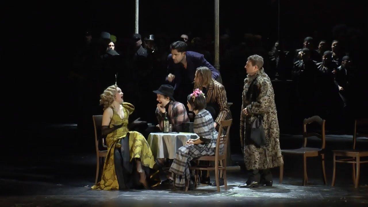 Extract La Bohème Quando Men Vo Komische Oper Berlin Youtube
