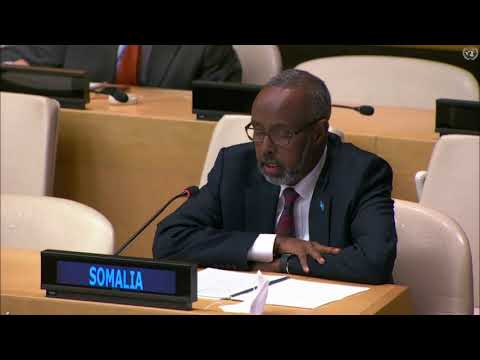 OSMAN CALLS FOR CHANGES IN UNITED NATIONS MISSION IN SOMALIA