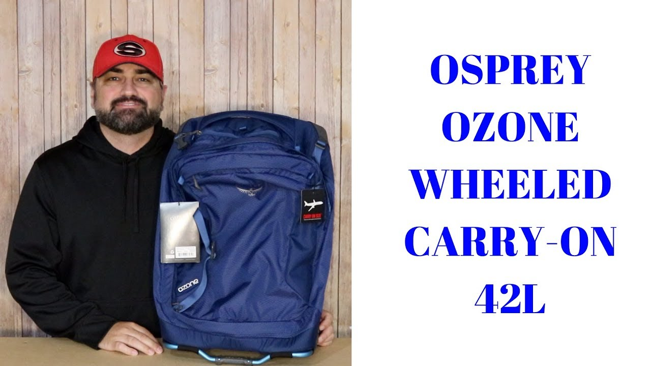 Download OSPREY OZONE WHEELED CARRY-ON 42L