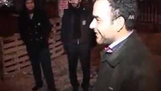 Sarhoş adam Konya' da polise takılınca Komedi
