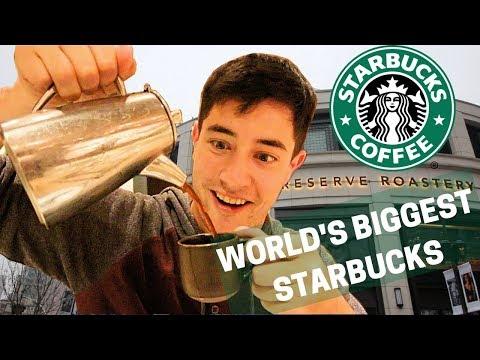 BIGGEST STARBUCKS IN THE WORLD : Shanghai, China - Starbucks Reserve Roastery