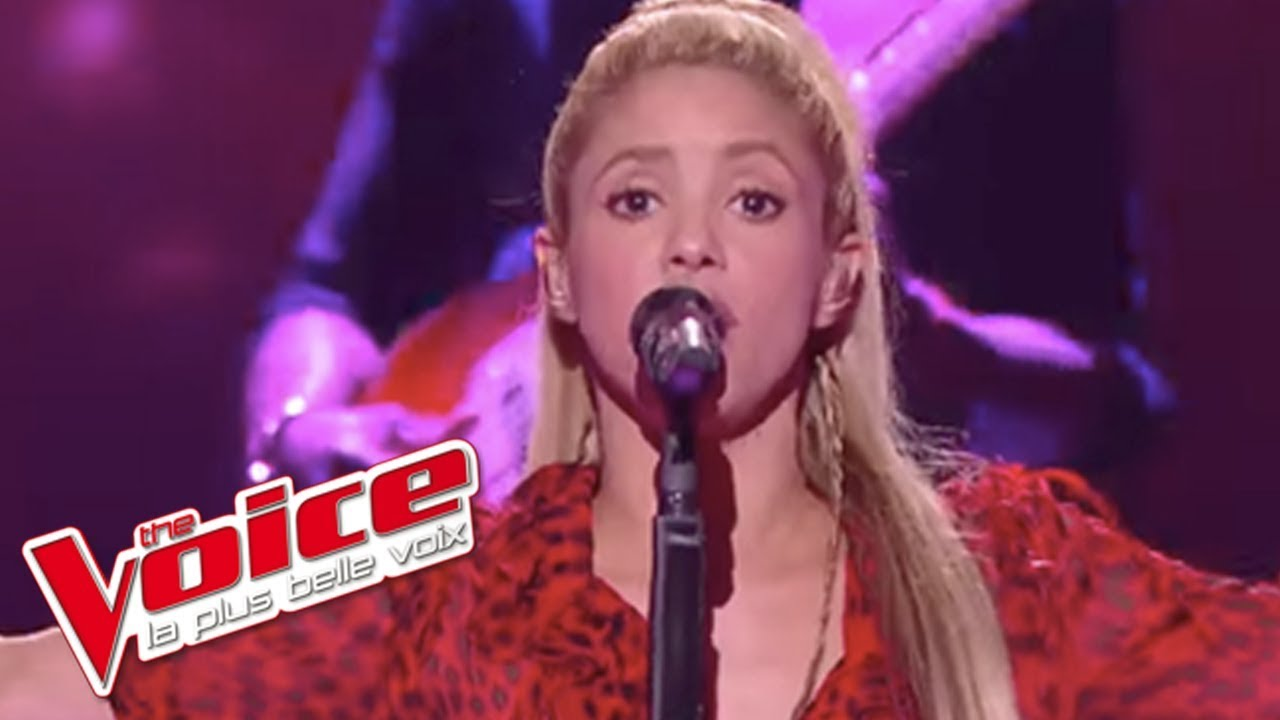 Shakira - Me Enamore | The Voice France 2017 | Finale