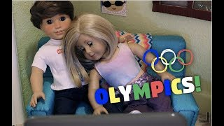 Gambar cover American Girl Doll Olympics! | agsm american girl doll stopmotion by White Fox Stopmotion