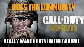 CAMPING IN ONE SPOT: Does The Community Really Want Boots on the Ground?