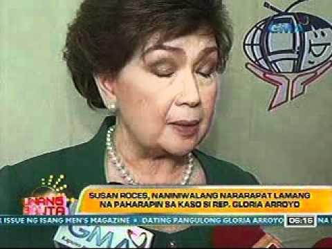Susan Roces, naniniwalang nararapat lamang na paharapin sa kaso si Rep. Gloria Arroyo