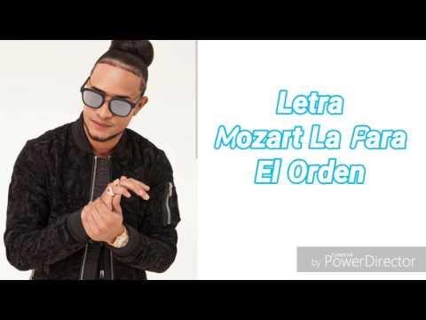 Mozart La Para - El Orden (Letra)
