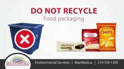 What You Recycle Matters - Plastics - Pet Food and Frozen Food Bags and more
