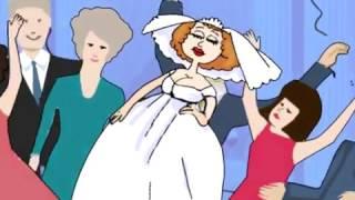 Мультик Свадьба  flash анимация