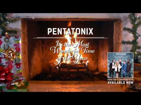 [Yule Log Audio] It's the Most Wonderful Time of the Year - Pentatonix