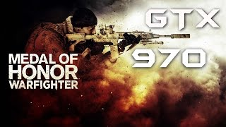 Medal of Honor: Warfighter | GTX 970 OC | DSR - 1440p Ultra Settings | FRAME-RATE TEST