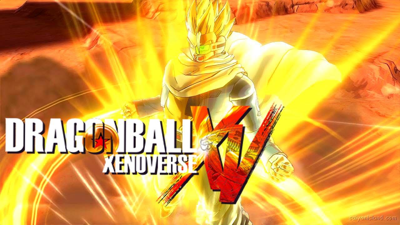 Dragon ball xenoverse custom super saiyan 3 characters gt dlc and