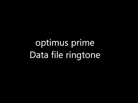Optimus prime data file ringtone