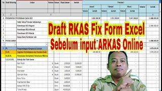Tips Cepat dan Benar Pengerjaan RKAS Online 2020 dengan Aplikasi RKAS 2020 Excel | Calon Guru