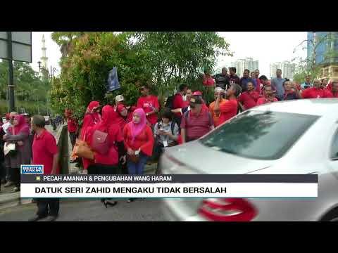 Datuk Seri Zahid Mengaku Tidak Bersalah