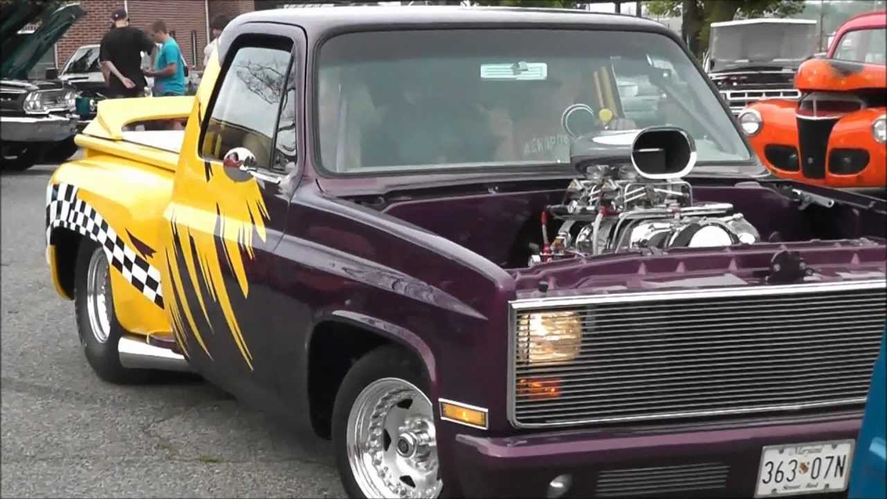 Pickup 86 chevy pickup : One Cool Truck Pro Street Blown Chevy Pickup - YouTube