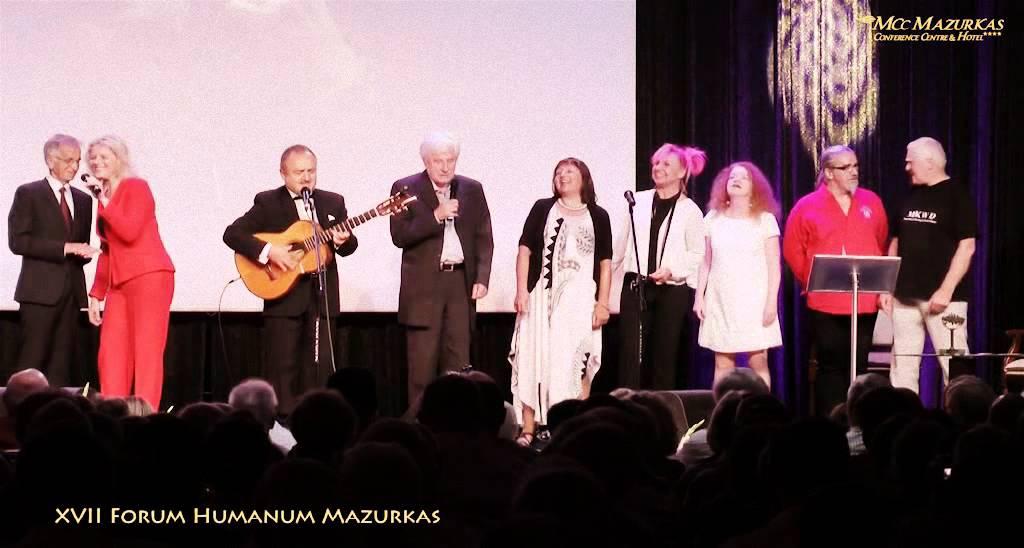 XVII Forum Humanum Mazurkas - finał 1 części benefisu Marka Majewskiego - MCC Mazurkas