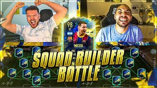fifa 21: messi tots squad builder battle 🔥🔥