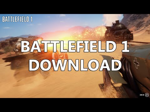 Battlefield 1 Game PC FREE Download Multiplayer