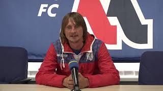 Комментарий после матча тренера МФК \