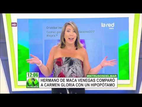 """La ofensiva comparación que hizo el hermano de Maca Venegas sobre la imagen de """"La Jueza"""" thumbnail"""