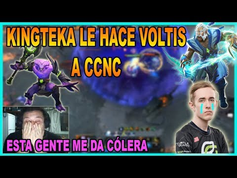 KINGTEKA SE ENFRENTA A CCnC!! RENIEGA CON SU TEAM!! | DOTA 2 thumbnail