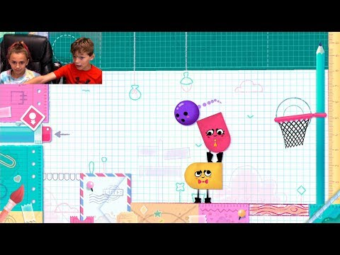 The Boss Level | SnipperClips Ep-2 | Gaming With Kayla And Tyler Davis