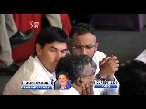 Shane Watson 9 C from 2 C IPL 2016 auction