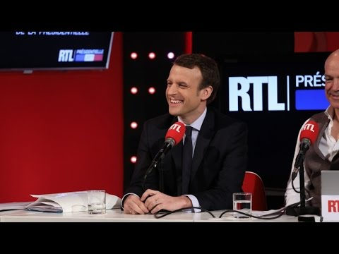 La chronique de Laurent Gerra devant Emmanuel Macron
